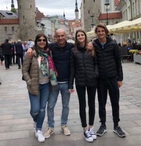 Dr Fernando Francone y familia