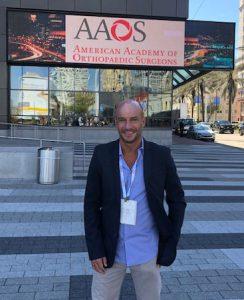 Dr Fernando Ariel Francone en la AAOS